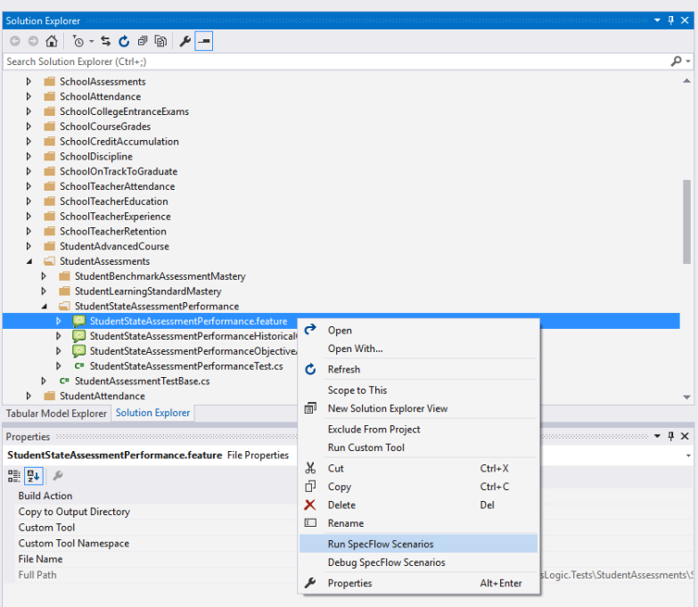 How To: Execute SpecFlow Tests in the ETL Solution - Ed-Fi